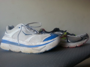 The Hoka-One-One. Ridiculous? Yes. Effective? Seems to be!
